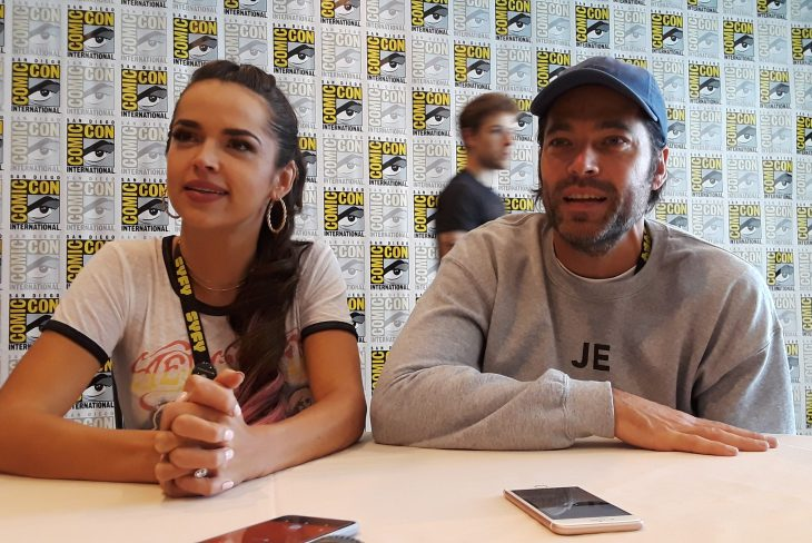Wynonna Earp: Tamara Duarte and Tim Rozon Talk New Cast and Fans