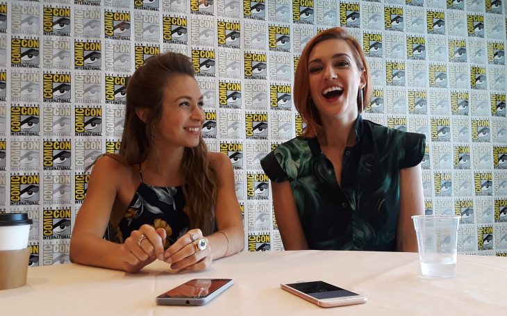 Wynonna Earp: Dominique Provost-Chalkley and Katherine Barrell Talk Season 2 and Wayhaught