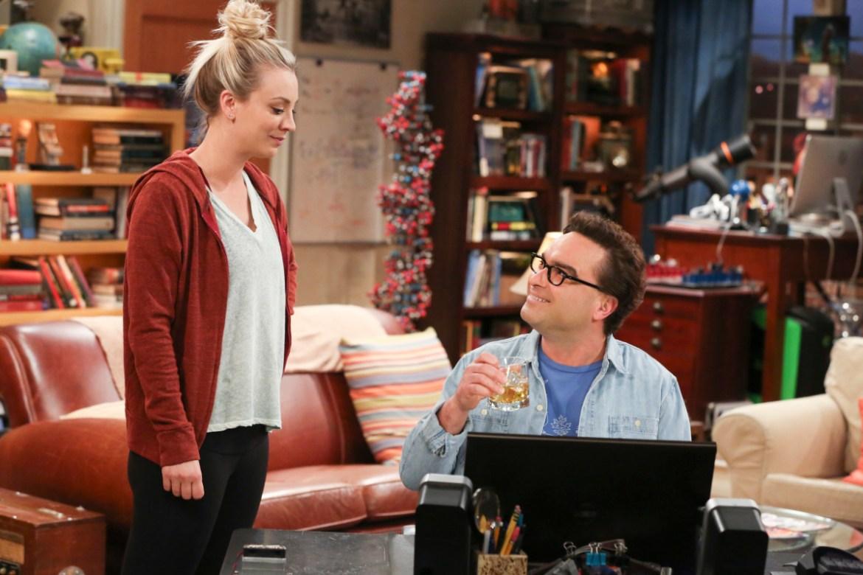 The Big Bang Theory Penny and Leonard