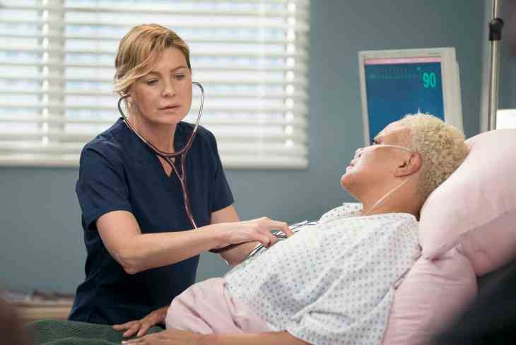 Grey's Anatomy Season 15 Episode 1 & 2 - Ellen Pompeo as Dr. Meredith Grey, Caroline Clay