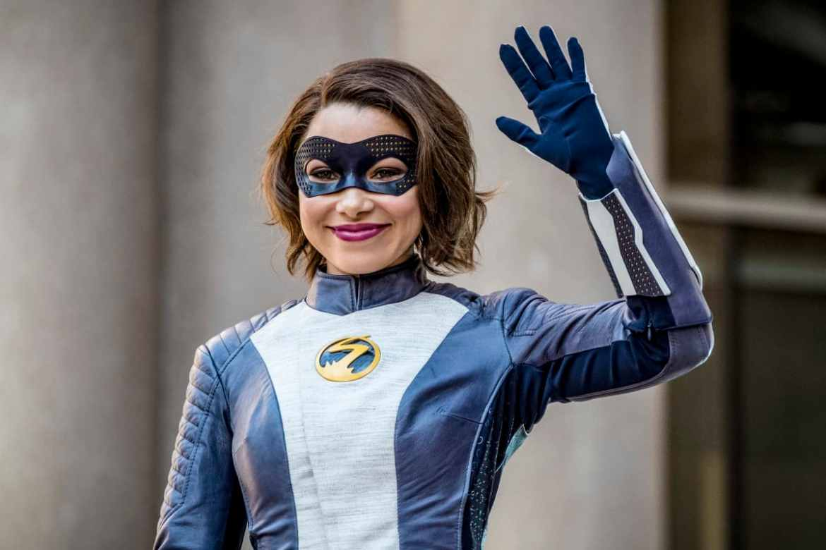 The Flash Season 5 Episode 1 - Jessica Parker Kennedy as XS