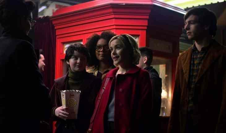 Chilling Adventures of Sabrina Season 1 Episode 1 (Credit: Diyah Pera/Netflix)
