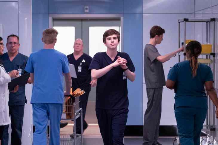 "The Good Doctor Season 2 Episode 8 ""Stories"" FREDDIE HIGHMORE"