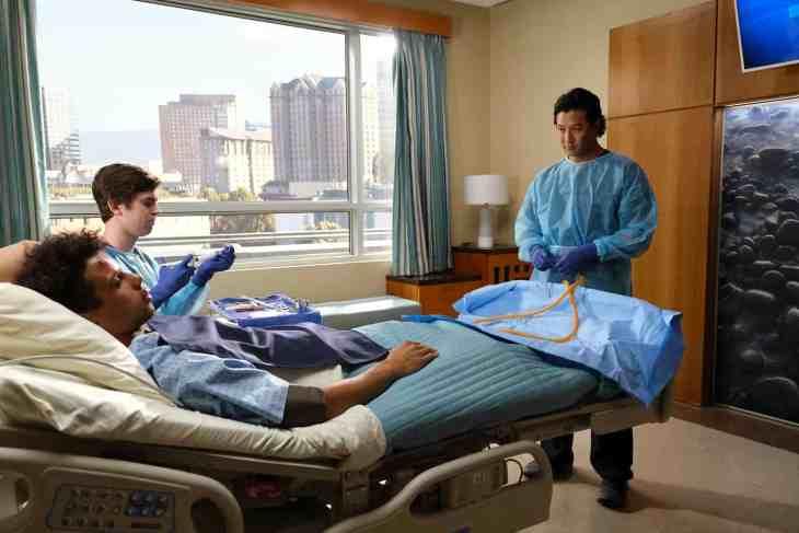 "The Good Doctor Season 2 Episode 9 ""Empathy"" MASON GOODING, FREDDIE HIGHMORE, WILL YUN LEE"