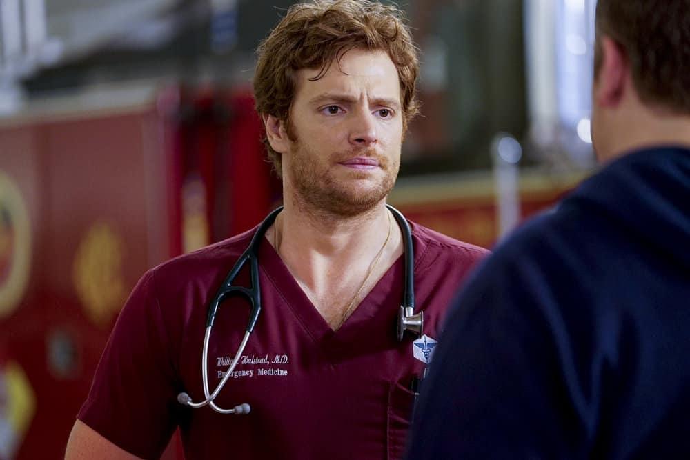 Chicago Med Season 4 Episode 7 - Nick Gehlfuss as Dr. Will Halstead