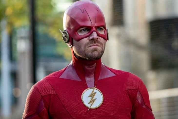 Arrow Season 7 Episode 9 - Stephen Amell as Barry Allen/The Flash