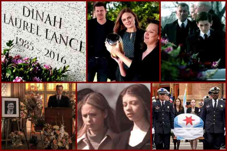 best tv funerals