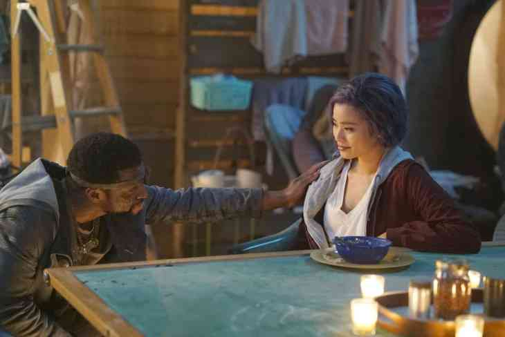 The Gifted Season 2 Episode 12 - Jamie Chung as Clarice Fong / Blink and Michael Luwoye as Erg