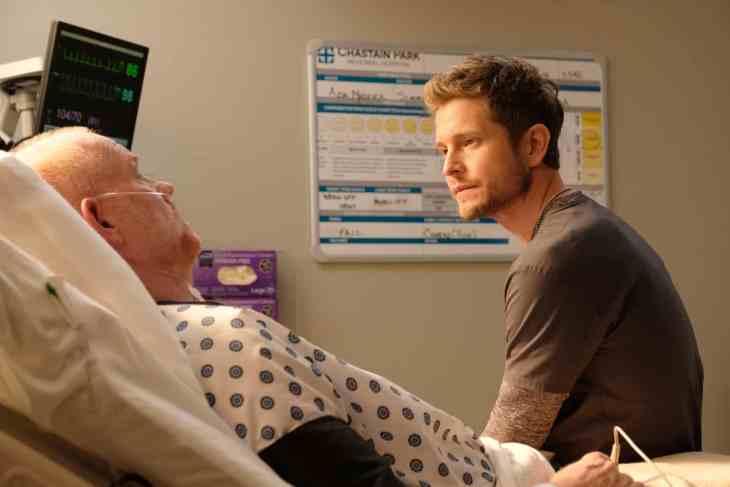 The Resident Season 2 Episode 10 - Glenn Morshower and Matt Czuchry as Conrad Hawkins