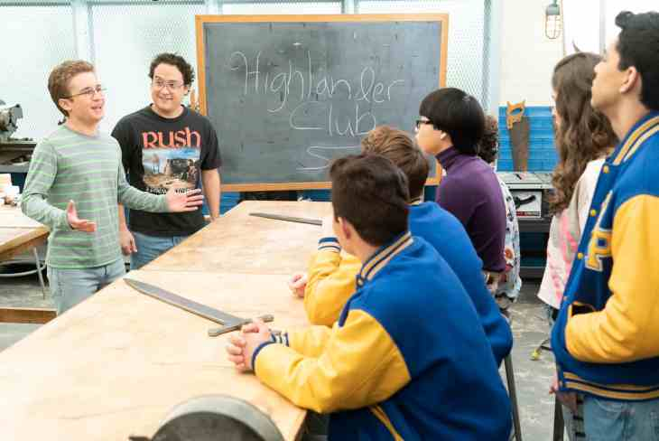 """The Goldbergs Season 6 Episode 17 """"There Can Be Only One Highlander Club"""""""
