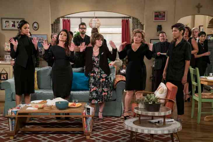 One Day at a Time Season 3 funeral
