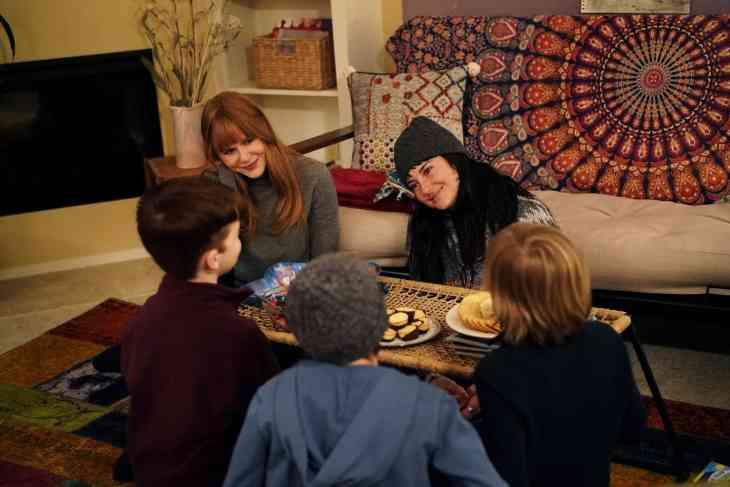 Big Little Lies Season 2, episode 2, debut 6/16/19: Nicole Kidman, Shailene Woodley, Iain Armitage, Nicholas Crovetti, Cameron Crovetti. photo: Jennifer Clasen/HBO
