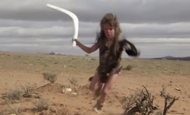 Feral kid boomerang