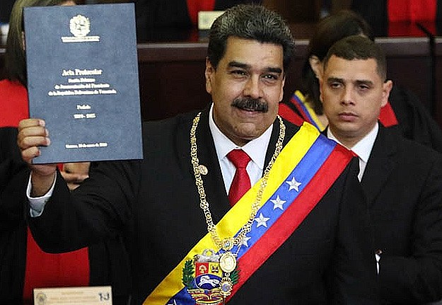 Maduro inaguration