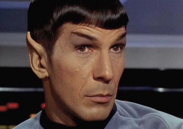 Spock look