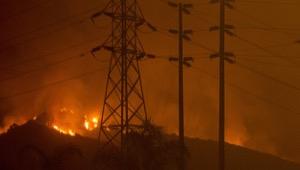 Thomas fire 2018 utility lines 300