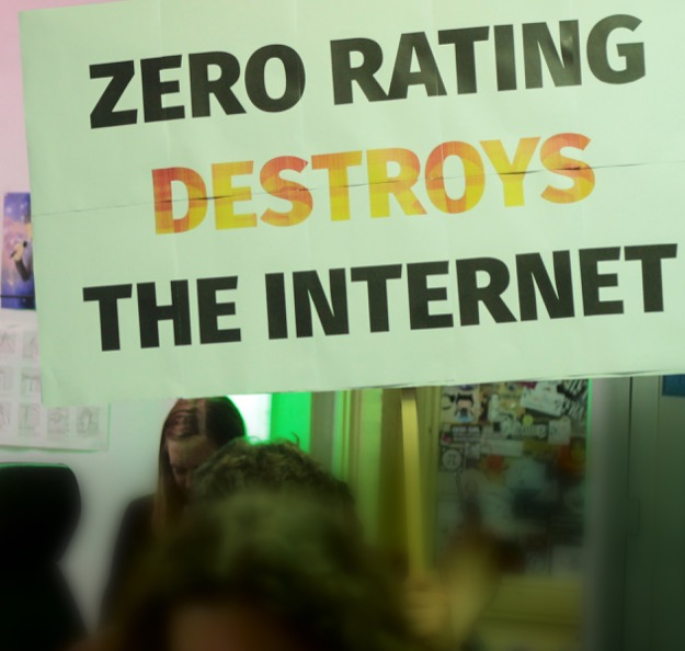 Zero rating destroys internet
