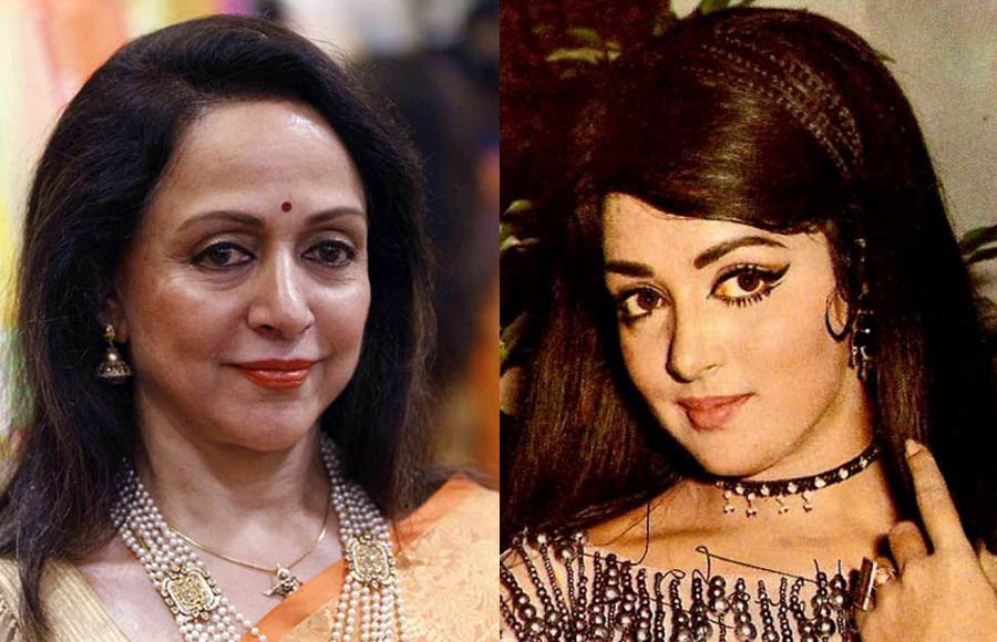 Image result for hema malini then and now