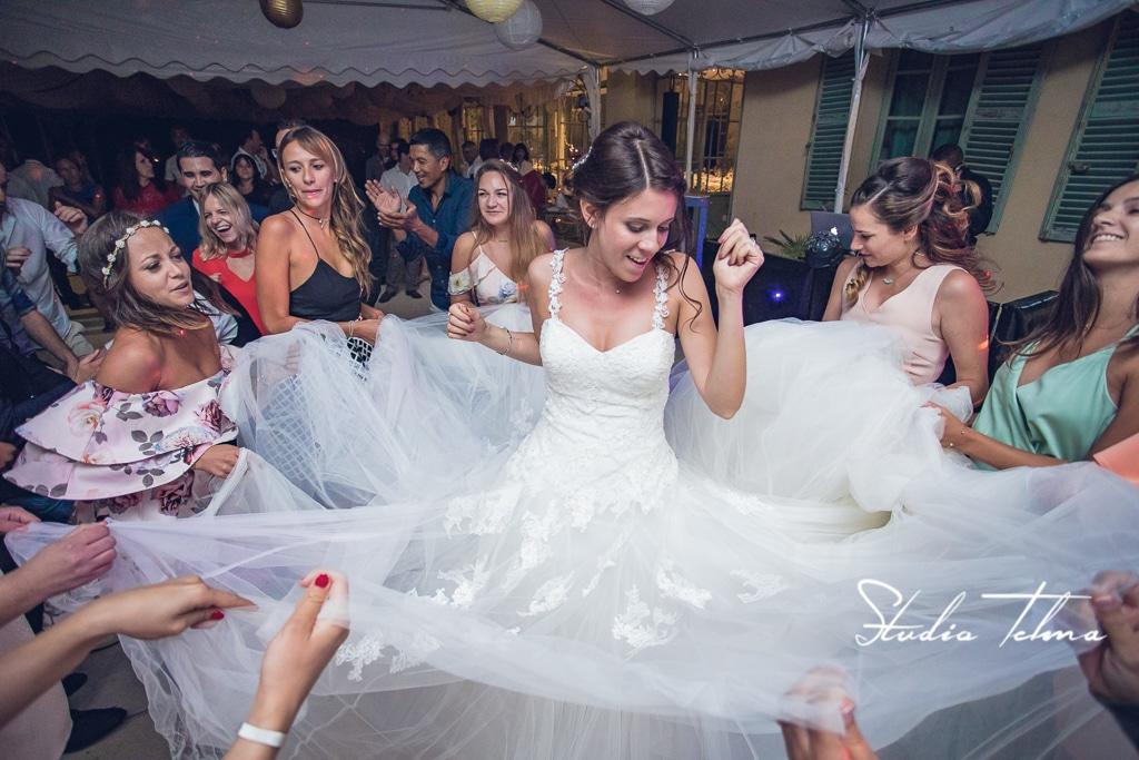 danse mariée mariage montrieux le vieux