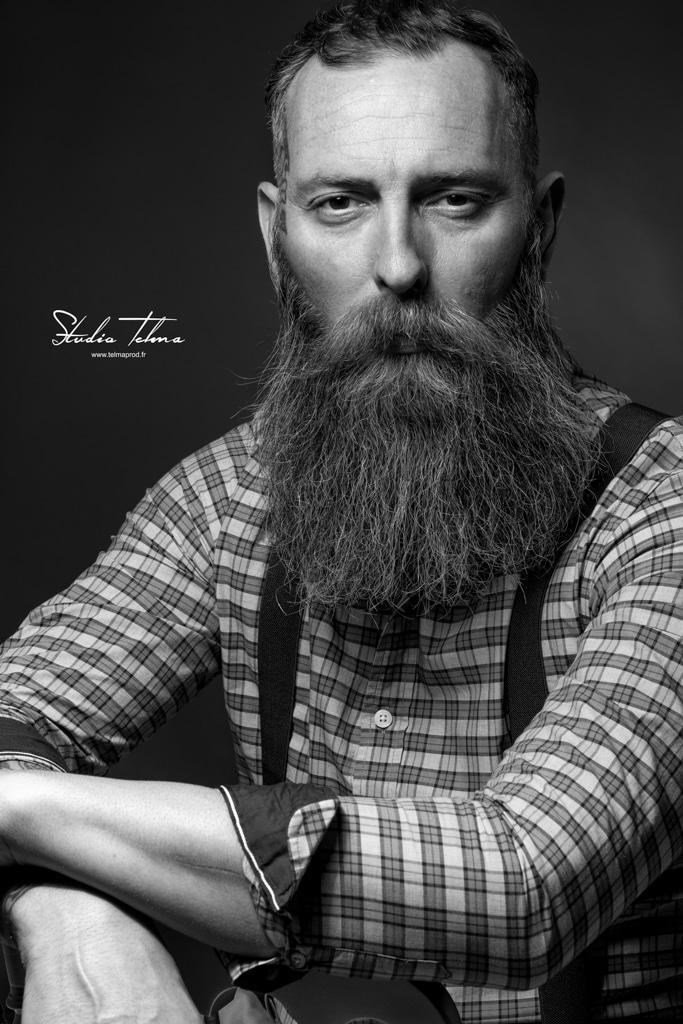 homme barbu par telmaprod Photographe Portraitiste de france
