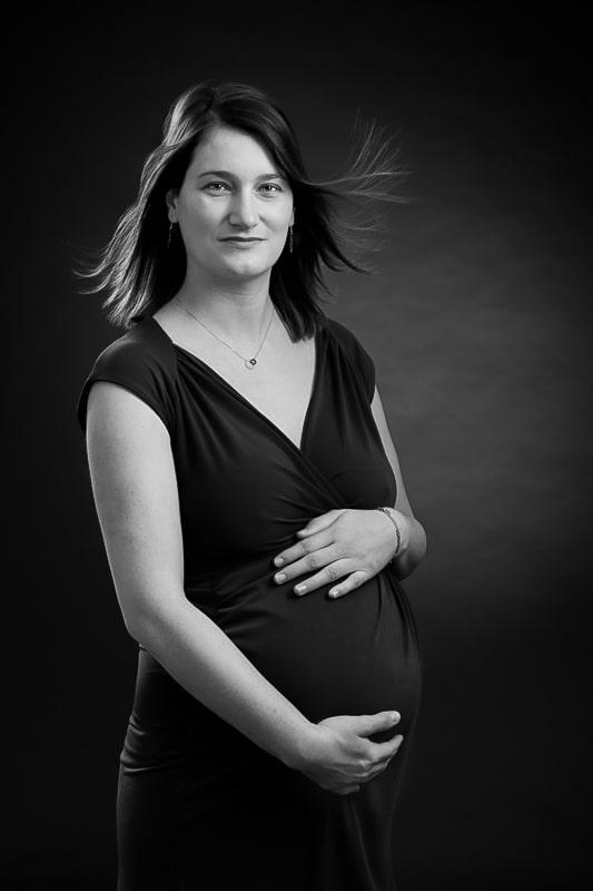femme enceinte photo studio var