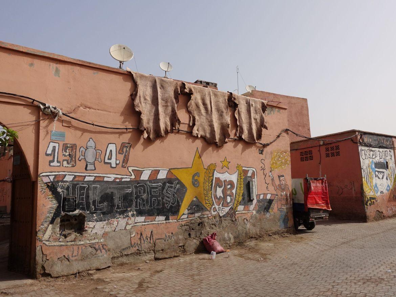 Barrio de los curtidores, Marrakech