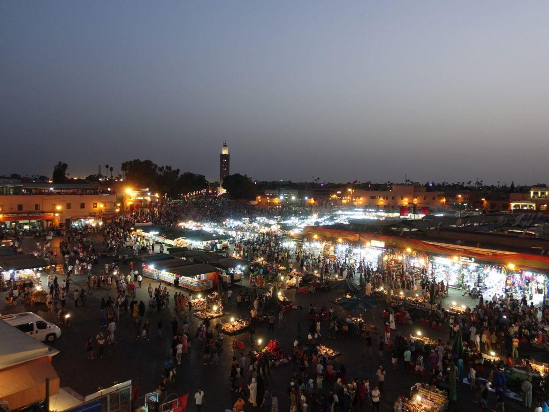 Plaza Jemaa el Fna: Marrakech en una semana