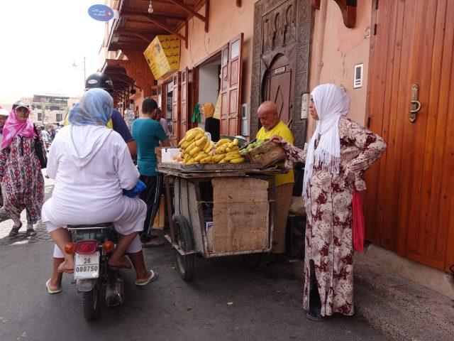 Camino a las Tumbas Saadíes, Marrakech