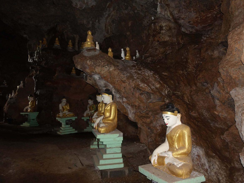 Cueva Htet Eain Gu, Lago Inle, Myanmar