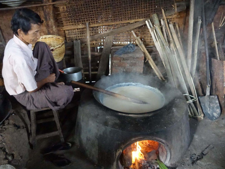 Palacio del tofu, Lago Inle, Myanmar