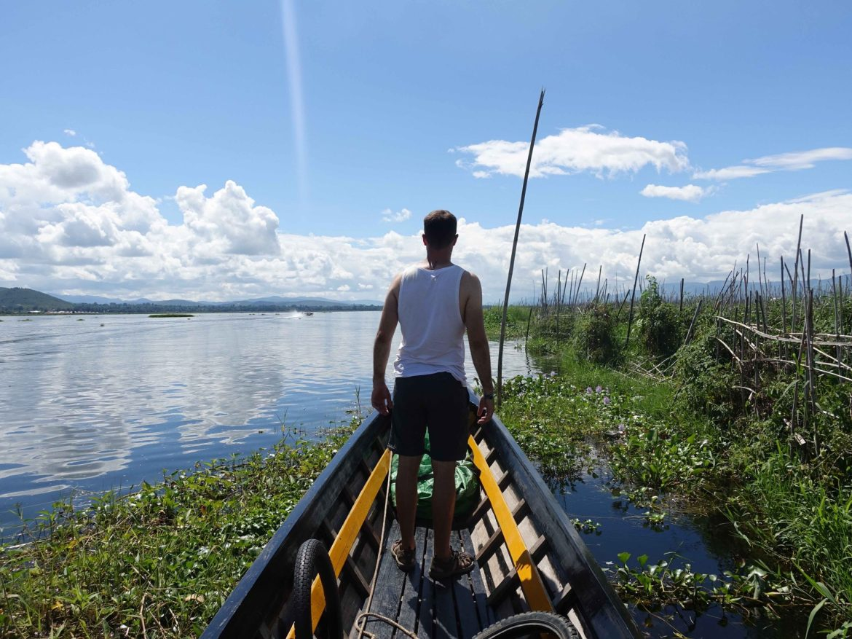 Jardines flotantes, Lago Inle, Myanmar