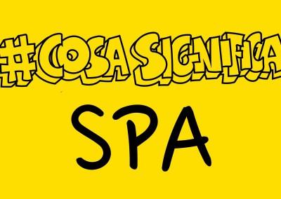 #Cosasignifica SPA? TELOSPIEGO!