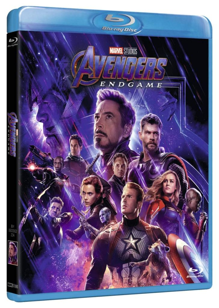 marvel avengers endgame iron man capitan america thanos dvd blue ray