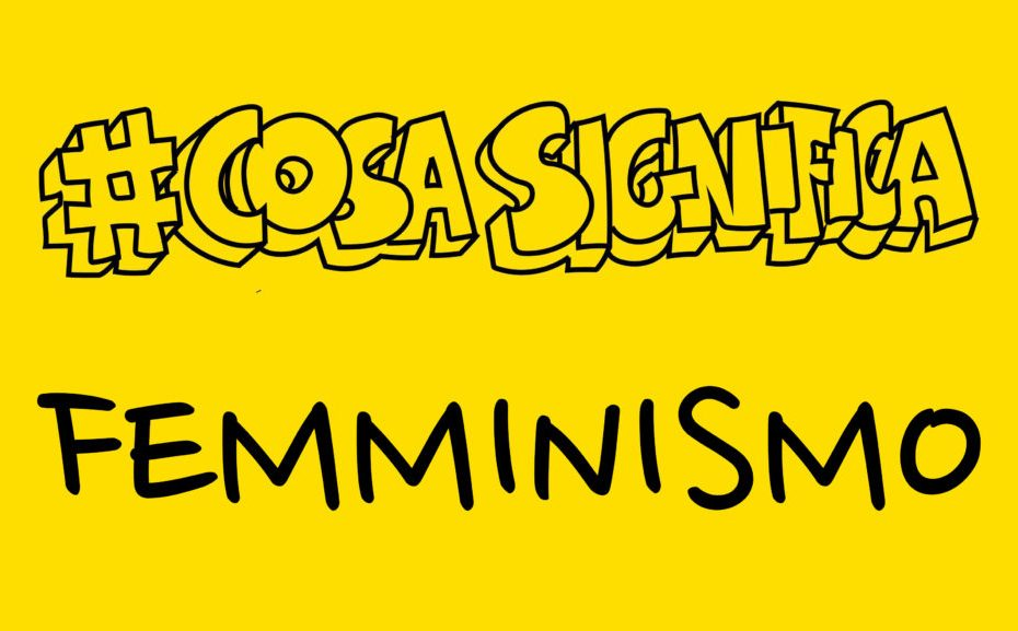 cosa significa femminismo thumbnail video #telospiego