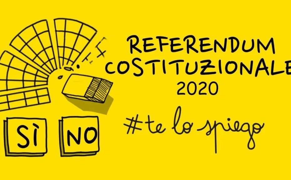 THUMBNAIL per il video sul referendum sul taglio dei parlamentari del 29 marzo
