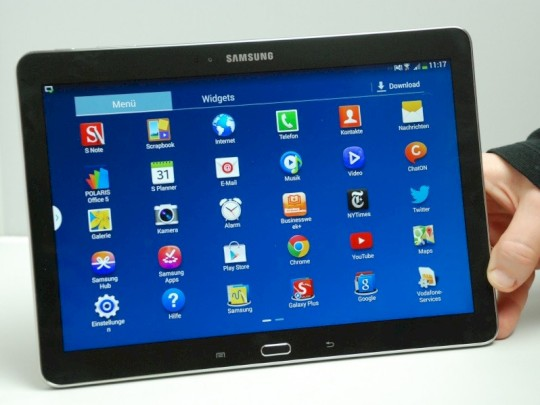 Tablet Mit Stift Samsung Galaxy Note 101 2014 Edition Im