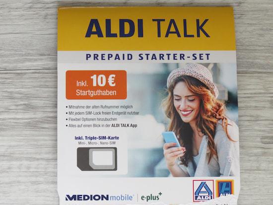 Aldi Talk Prepaid Identifizierung An Der Aldi Kasse Im Test Teltarif De News