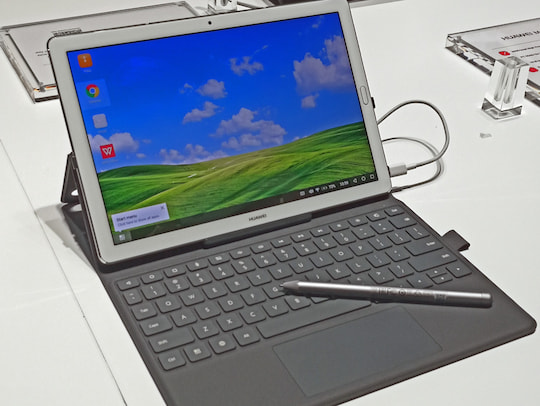 Huawei Zeigt Tablet Mit Stift Und Ultradunnes Notebook Teltarif De News