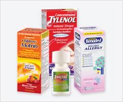 Recall: All Lots of Children's Liquid Tylenol, Motrin, Benadryl, Zyrtec