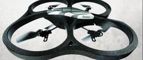 iPhone Controlled Flying Drone