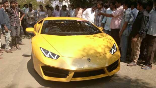jc prabhakar reddy costly car gift to son