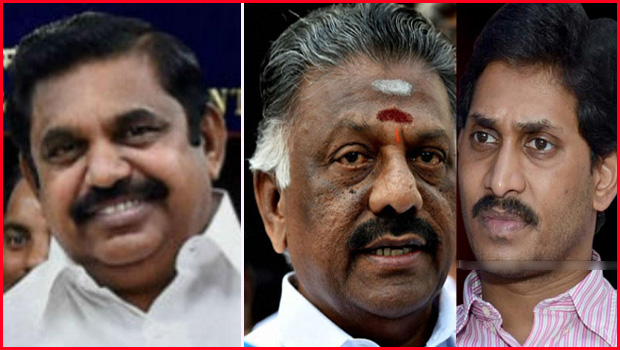 palaniswamy chief minister of tamilnadu panneerselvam and jagan shocked
