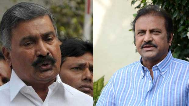 mohan babu troubles ycp leaders