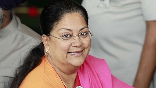 rajasthan chief minister vasundhara raje as Union defence minister
