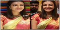 Kajal in Saree HD Pics