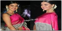 Yashu Mashetty in Saree Pics