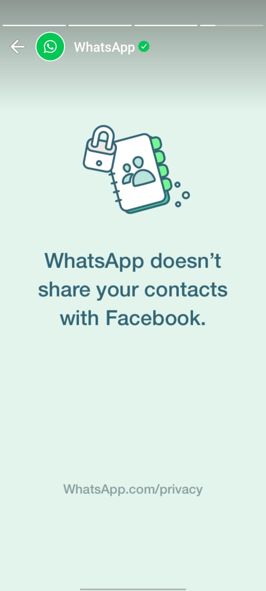 WhatsApp clears about its privacy