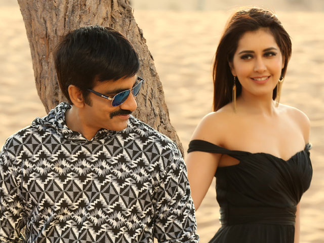రవిఖన్నా-Raviteja and Rashikhanna paris for new movie titled maha samudram