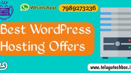 Best WordPress hosting telugu