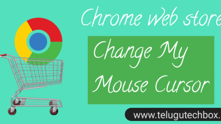 How to change mouse corner icon